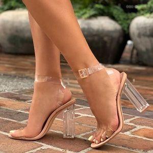 Glass Slipper Shoe